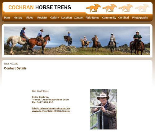 Barilaro received money from a former National MP, Peter Cochran, now running a horse trekking company.