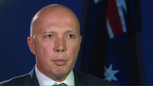 """Home Affairs Minister Peter Dutton said authorities would """"defeat"""" terror at home."""