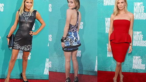 Pics: MTV Movie Awards red carpet fashion