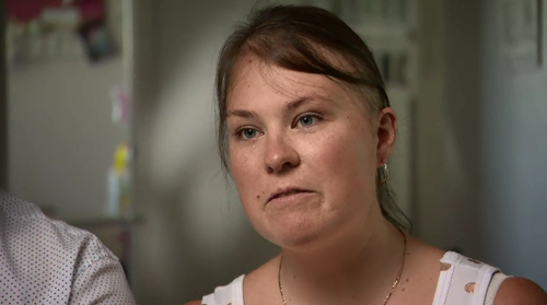 Kate McKenzie has a rare genetic condition that causes tumours to grow all through her body.