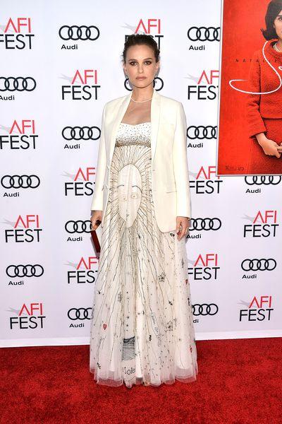 Natalie Portman at the <em>Jackie </em>Premiere in Hollywood on November 14, 2016.