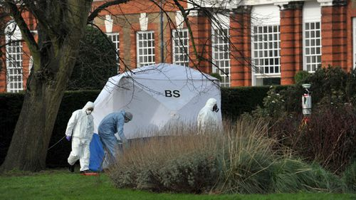 Man dies after being found on fire outside Kensington Palace