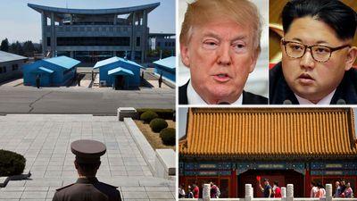 Location of historic Trump-Kim summit a mystery