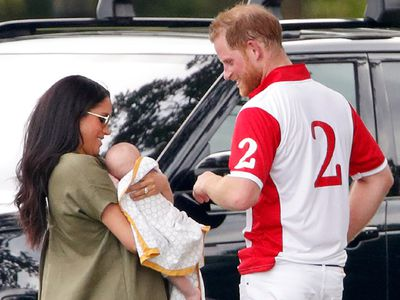 Prince Harry, Meghan, Duchess of Sussex and Archie