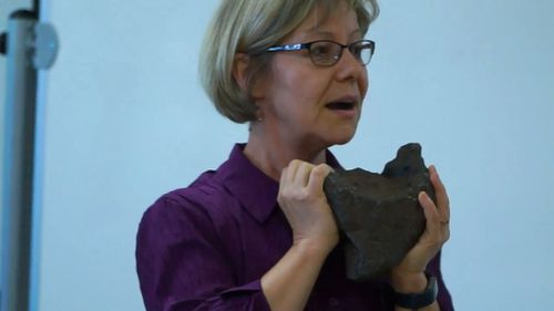 The chunk of iron and nickel was later valued at $100,000 after the Smithsonian Institution verified the find, CMU said in a release.