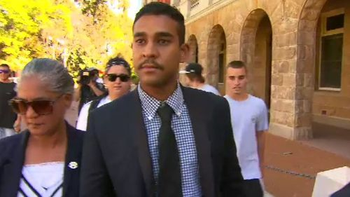 Jude Francis confessed when police came knocking and is remorseful, according to his lawyer. Picture: 9News