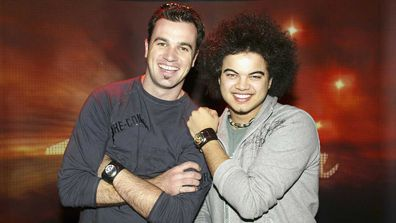 Guy Sebastian beat Shannon Noll in the first season of Australian Idol.