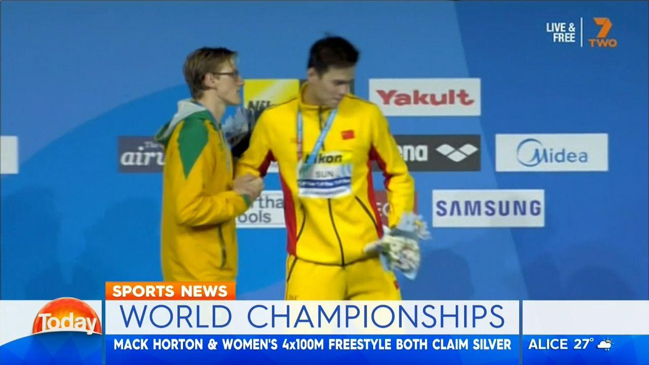 Aussie swim coach Jacco Verhaeren says Sun, Horton incident fake news