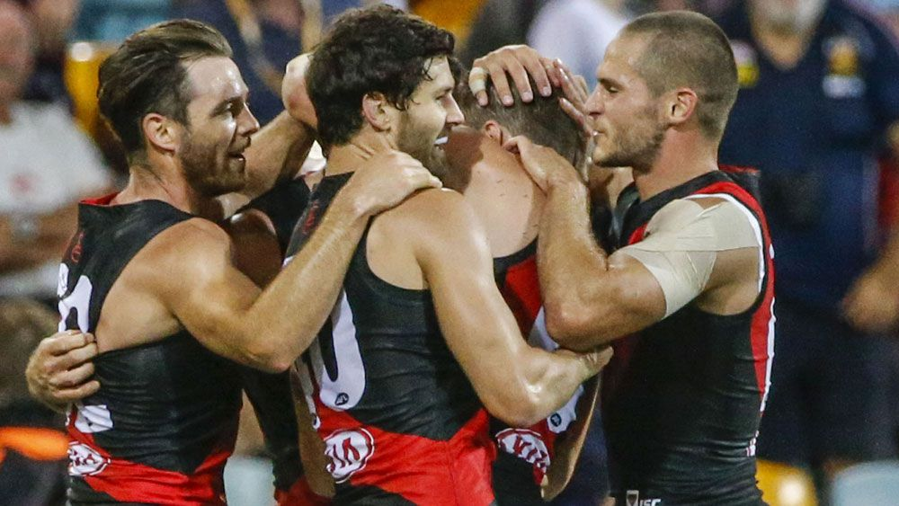 Essendon Bombers beat Brisbane Lions to continue bright start
