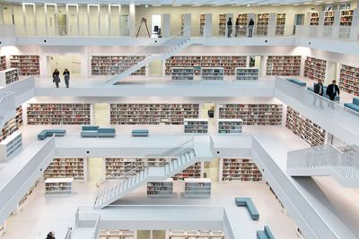 <strong>The Stadtbibliothek, Stuttgart</strong>
