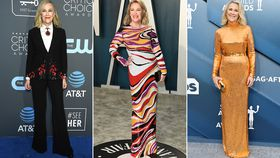 Enjoy a closer look at Catherine O'Hara's most impressive red carpet moments