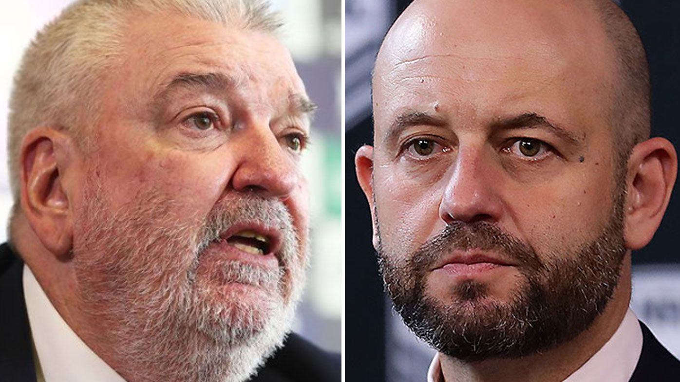 Shane Richardson takes name out of running for NRL CEO job, defends Todd Greenberg
