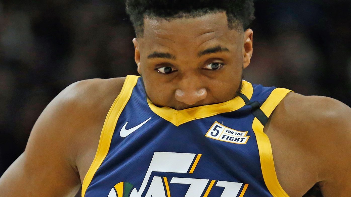 Utah Jazz guard Donovan Mitchell