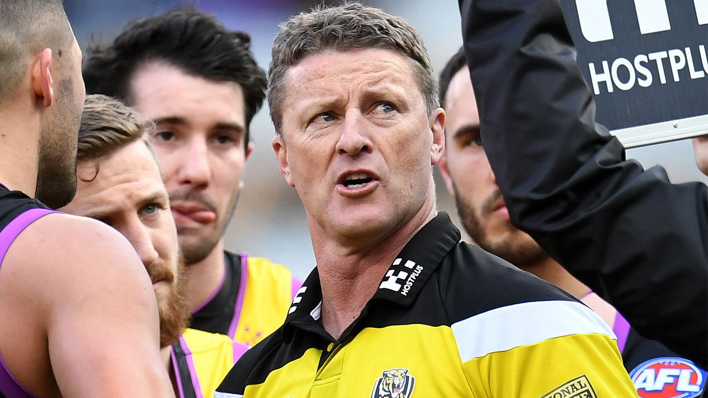 Tigers re-sign Hardwick as AFL coach
