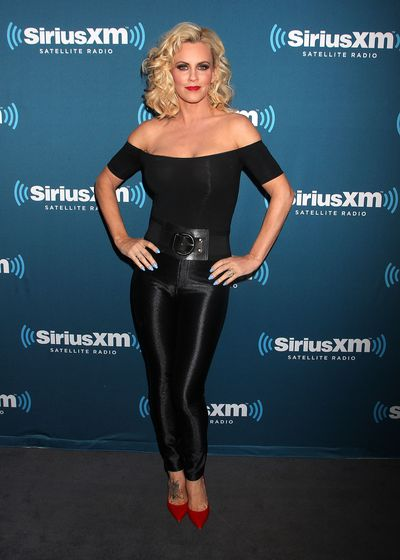 Actress Jenny McCarthy at a Halloween Costume Party in New York in 2014