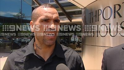 'Looks like I need a driver': Mundine fined for driving unlicensed