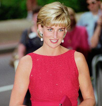 Princess Diana in Washington in 1997.