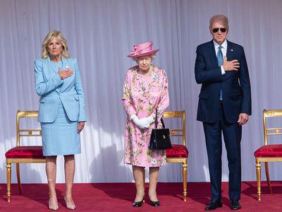 Queen Elizabeth II hosts President Joe Biden and Dr Jill Biden