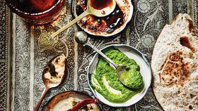 Anjum Anand's tangy herb chutney