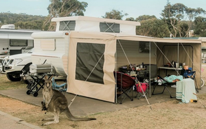How caravan parks are adapting to coronavirus as travel restrictions lift