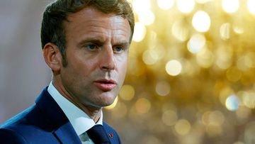 French President Emmanuel Macron.