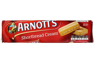 Shortbread Cream: 86 calories/361kj per biscuit