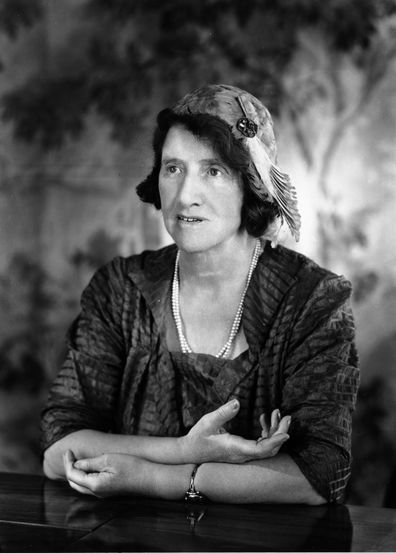 1953:  English birth control pioneer and palaeobotanist Dr Marie Charlotte Carmichael Stopes (1880 - 1958).  (Photo by Baron/Hulton Archive/Getty Images)