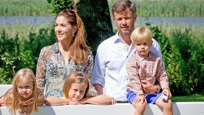 The Royal Family at Grasten Palace, 2014