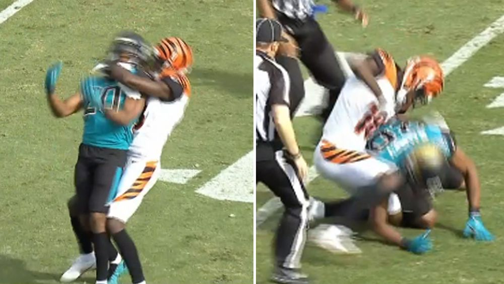 NFL: Bengals star A.J. Green and Jalen Ramsey ejected after choke slam fight