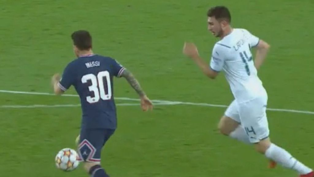 Messi scores superb first goal for PSG in 2-0 win against Man City in Champions League