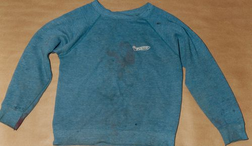 And while Bishop's discarded sweatshirt found nearby was part of the original trial evidence, it hadn't been properly preserved by police.
