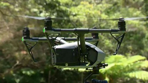 A fleet of drones is being rolled out to target illegal rubbish dumpers in remote areas of NSW. (9NEWS)
