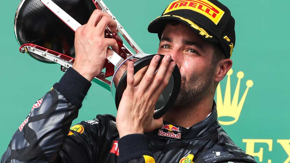 F1: Ricciardo the best driver says Alonso