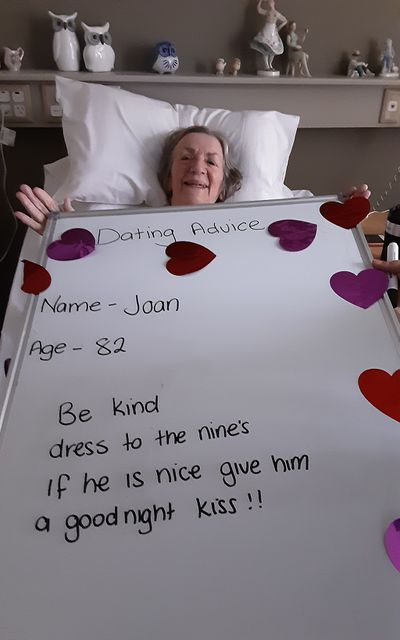 Joan, 82: 'Be kind'