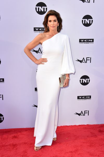 Supermodel Cindy Crawford in Stella McCartney
