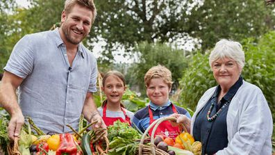 Celebrity chefs Curtis Stone and Stephanie Alexander team up with Coles