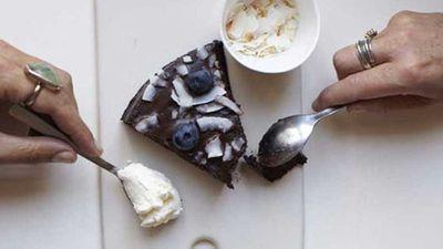 "Recipe:<a href=""https://kitchen.nine.com.au/2016/12/14/14/28/sarah-wilsons-blueberry-ripple"" target=""_top"">Sarah Wilson's blueberry ripple</a>"