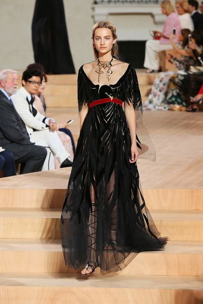 <p>Designers Maria Grazia Chiuri and Pierpaolo Piccioli write a love note to Rome with this latest collection.</p>