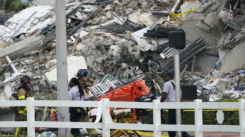 A Miami apartment building has collapsed, with dozens missing.