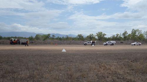 The ultralight aircraft crashed near Jones Rd, Woodstock.