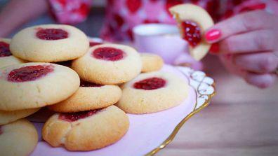 Easy jam drop cookies recipe