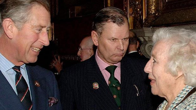 Prince Charles, the Prince of Wales, and Dame Vera.