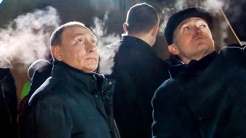 Russian President Vladimir Putin arrived in the city to oversee the rescue efforts.