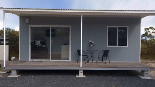 Quick Built Homes offers flat pack homes for between $12,000 and $35,000.