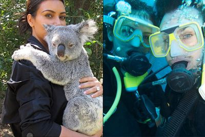 """<br/>Hollywood's A-listers may incite mayhem and fan-frenzy wherever they go, but sometimes you couldn't pick 'em apart from the locals.<br/><br/>Just check out these celebrities and their favourite vaycay spots Down Under ...<br/><br/><br/><br/><br/><br/><br/><p style=""""color:grey;font-size:10px;""""><a href=http://posse.com/airasia?cc=ninemsn>Presented by Posse, the site that lets you search for hidden gems and discover the best places on earth to eat, shop and drink. </a></p>"""