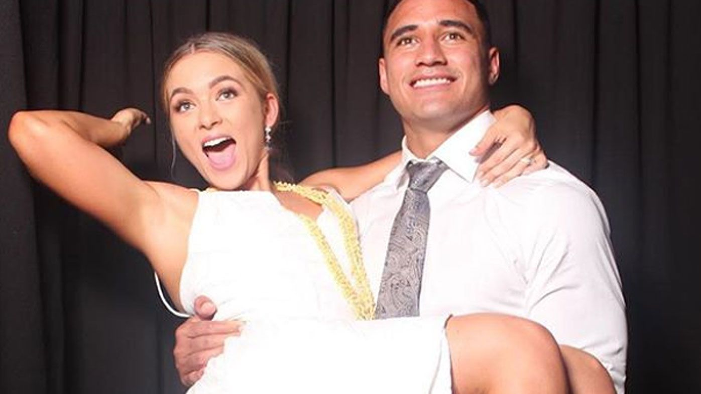 Valentine Holmes at his wedding