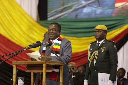 Zimbabwean President Emmerson Mnangagwa said the country had an elephant population of 84,000 and could cater to only 50,000.
