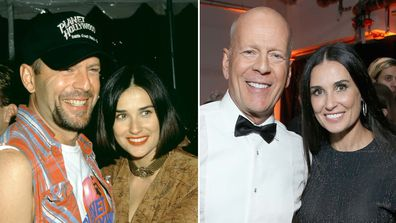 Demi Moore, Bruce Willis, relationship timeline