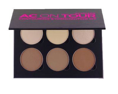 "<a href=""https://www.australiscosmetics.com.au/product/z-62341/ac-on-tour-powder-contouring-and-highlighting-palette"" target=""_blank"">Australis AC ON TOUR Highlighting and Contouring Kit, $16.95</a>"