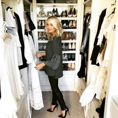 """<p>We already know Jackie O Henderson is one stylish woman, and now she&rsquo;s given us a peek behind the seams to prove it.<br /> <br /> The usually-private radio host shared a picture on Instagram with her 148,000 followers which showed her choosing from an array of designer outfits on display in her very impressive closet. </p> <p>Henderson was preparing to head out to MC the Red Cross fashion auction. """"Can&rsquo;t wait for tonight. Getting ready to host&nbsp;@redcrossau&nbsp;and&nbsp;@uber_australia&nbsp;#farewellfashion&nbsp;event, such a great cause,"""" she 43 year-old captioned the image.<br /> <br /> The mum of one recently told <a href=""""https://honey.nine.com.au/2018/05/02/10/40/jackie-o-henderson-weight-loss"""" target=""""_blank"""" draggable=""""false"""">9Honey</a>&nbsp;that after losing 10 kilos in six months she's never felt better about herself and re-discovering clothes that she didn't think she'd be able to wear again.<br /> <br /> """"I hated that I had let it get to that point, but I think I was struggling with a few things at the time, so eating was a way for me to escape my problems,"""" Henderson revealed. <br /> <br /> """"I feel a whole lot better about myself, not only can I fit into my old clothes, but I have a lot more energy.""""</p>"""